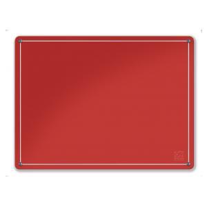 Glassboard FLAT Red
