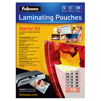 Fellowes Laminating Pouches Imagelast A5 Enhance 80mic